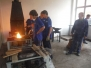 Fotografie z kovářského výcviku