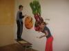 Malování klubovny