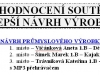 Návrh prům. výrobku 2009 - hodnocení